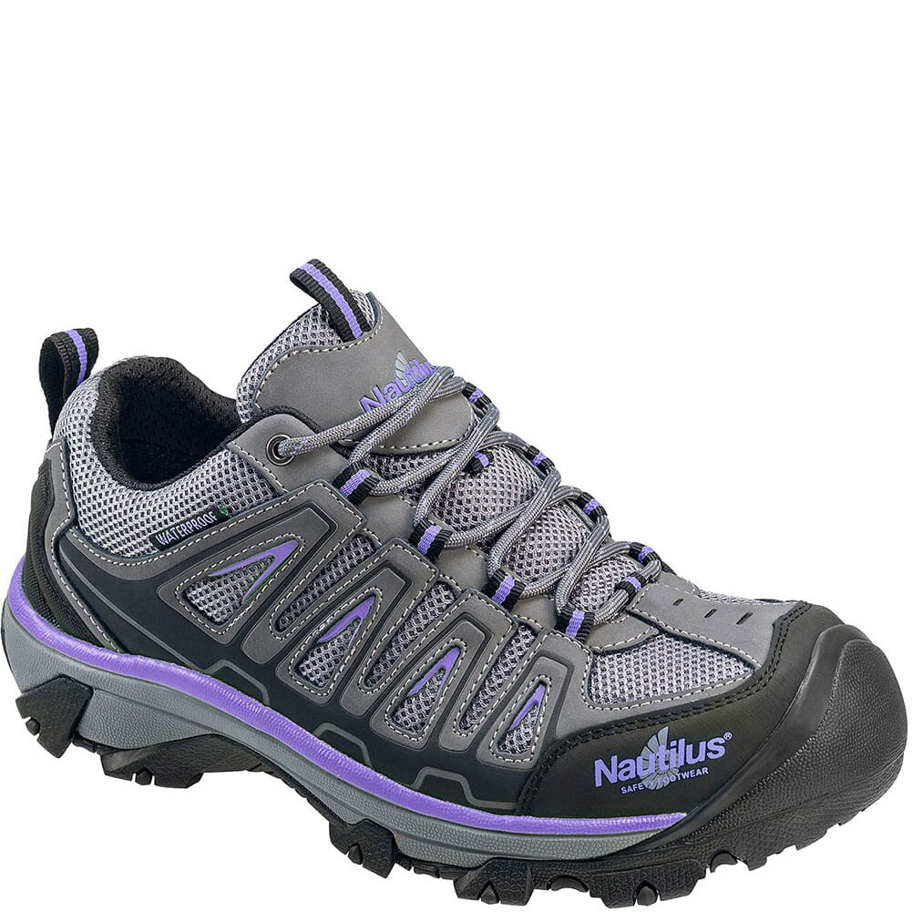 Image for Nautilus Women's Low Waterproof Safety Shoes - Grey from bootbay