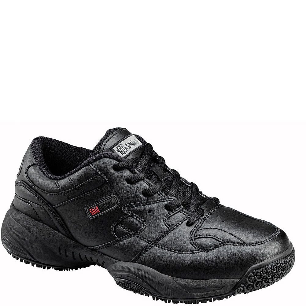 Image for SkidBuster Women's SR Athletic Work Shoes - Black from elliottsboots