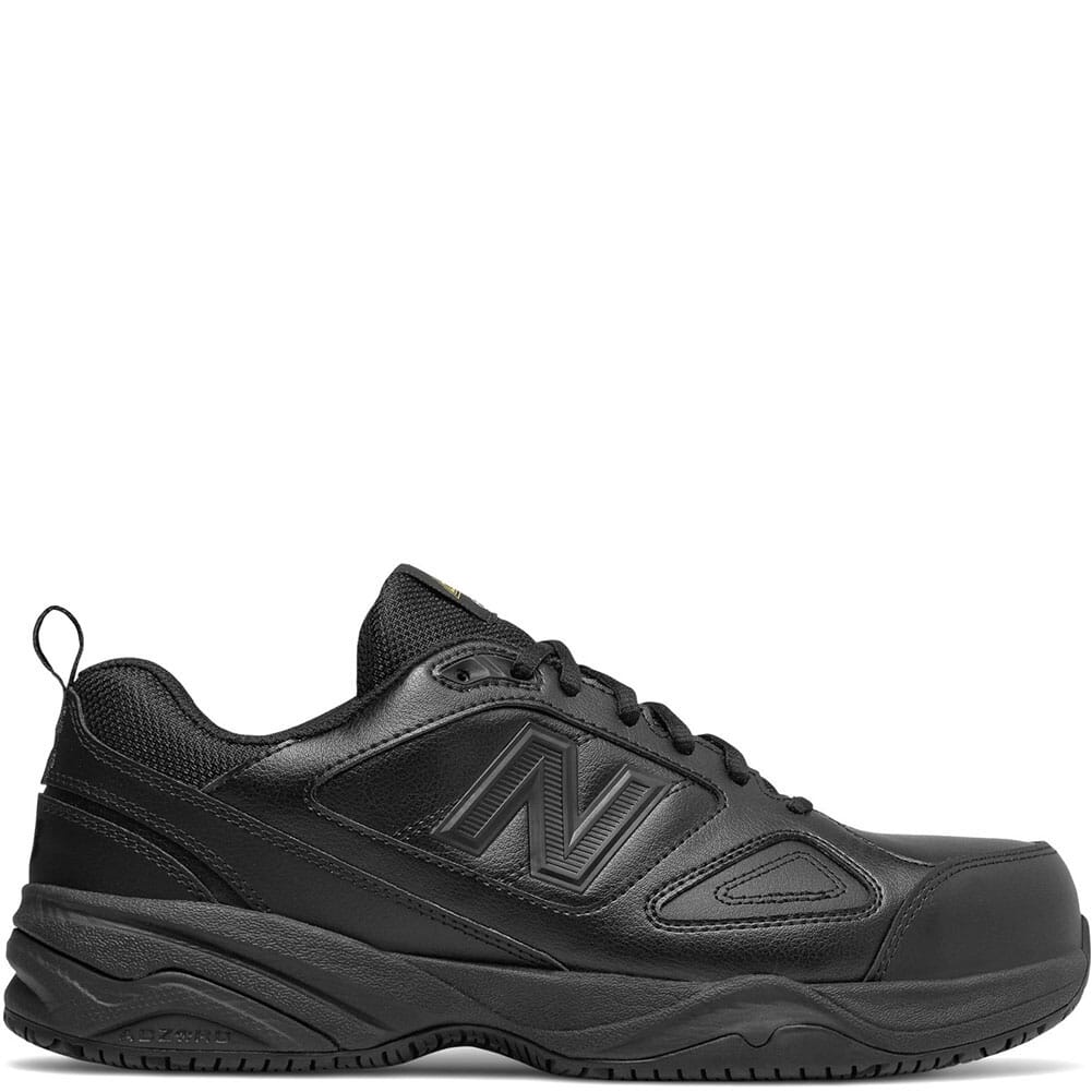 Image for New Balance Men's Leather Safety Shoes - Black from bootbay