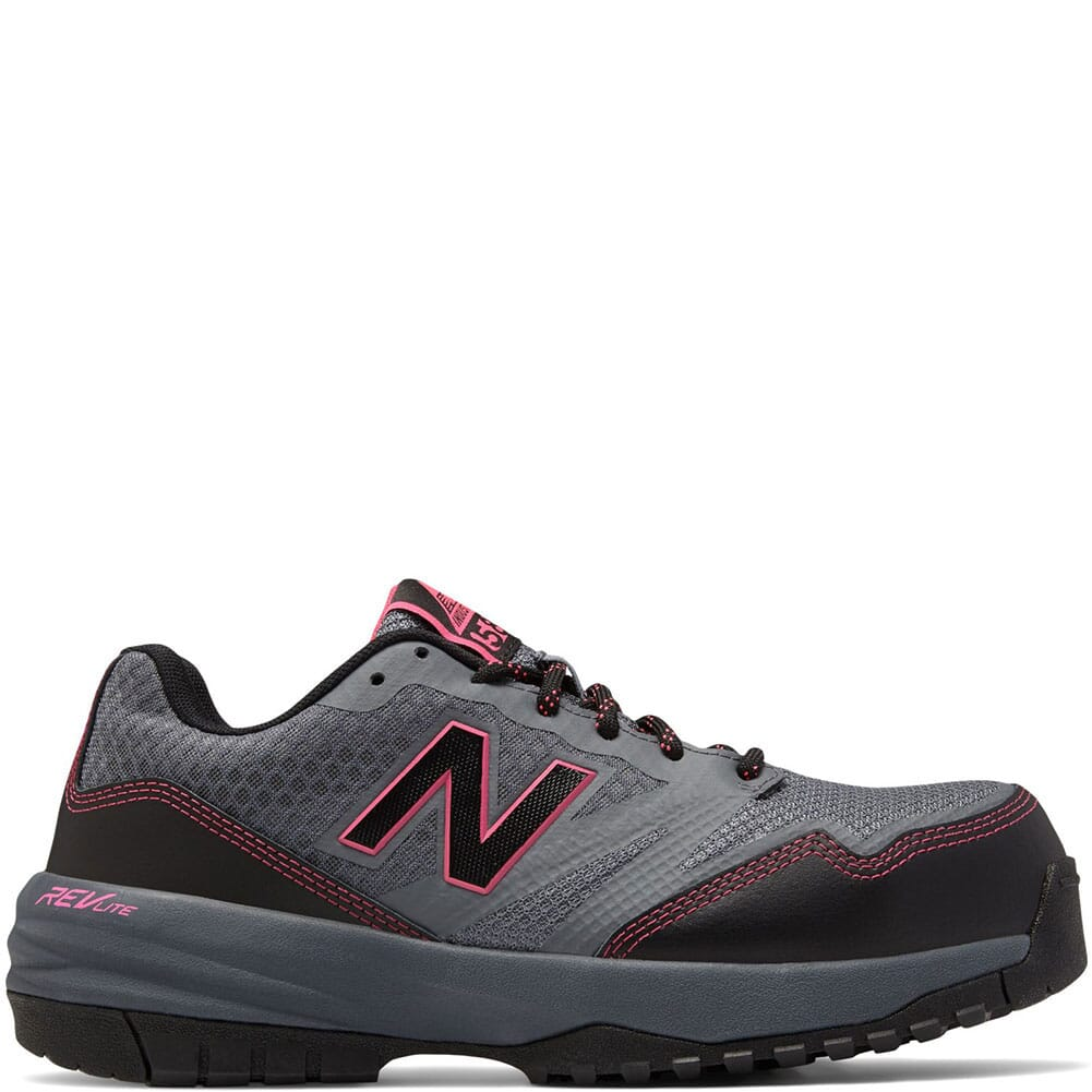 Image for New Balance 589 Women's EH Safety Shoes - Grey/Pink from bootbay