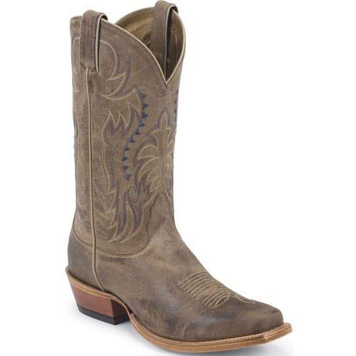 Image for Nocona Men's Half Moon Western Boots - Tan from elliottsboots