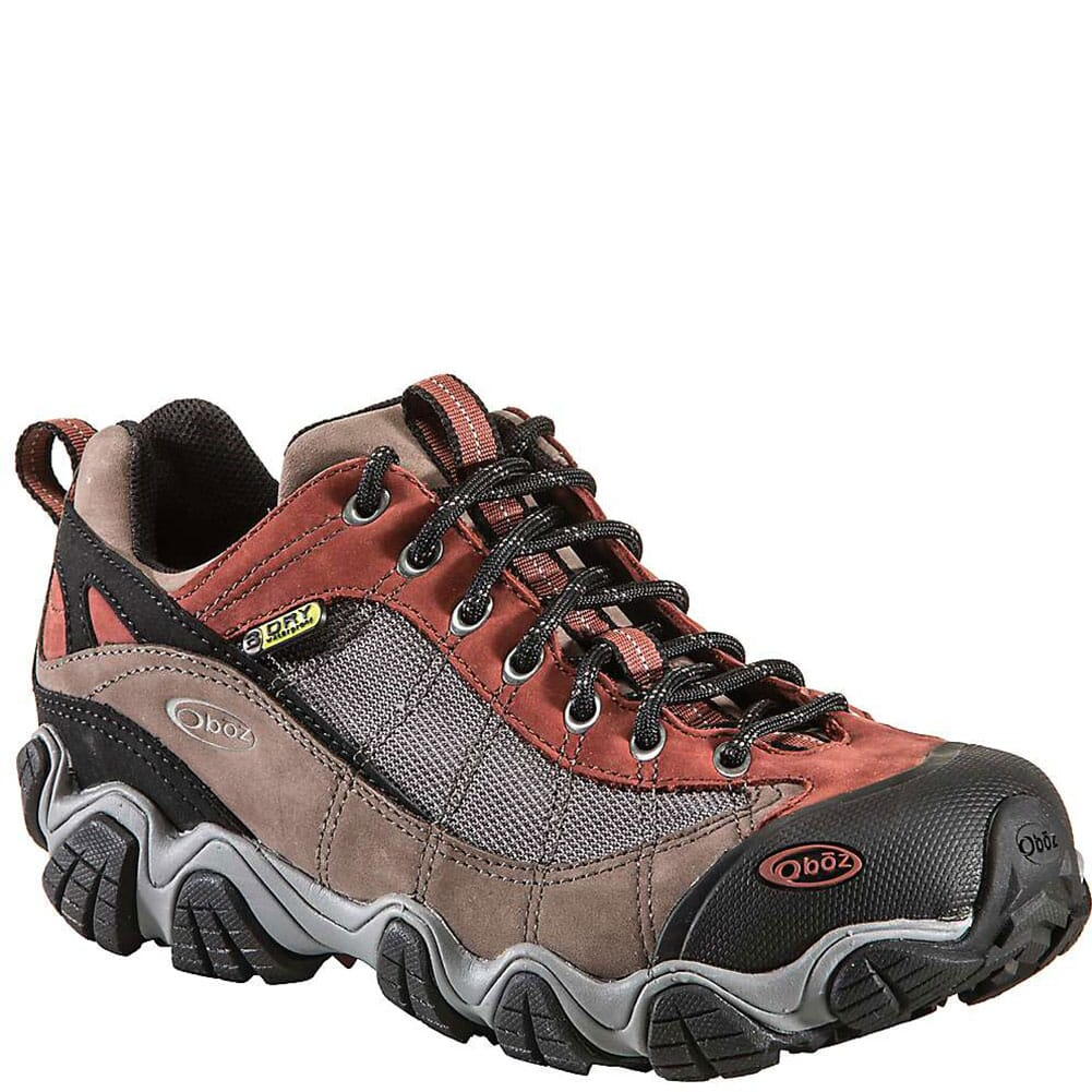 Image for Earth Oboz Men's Firebrand II BDry Hiking Shoes - Earth from bootbay