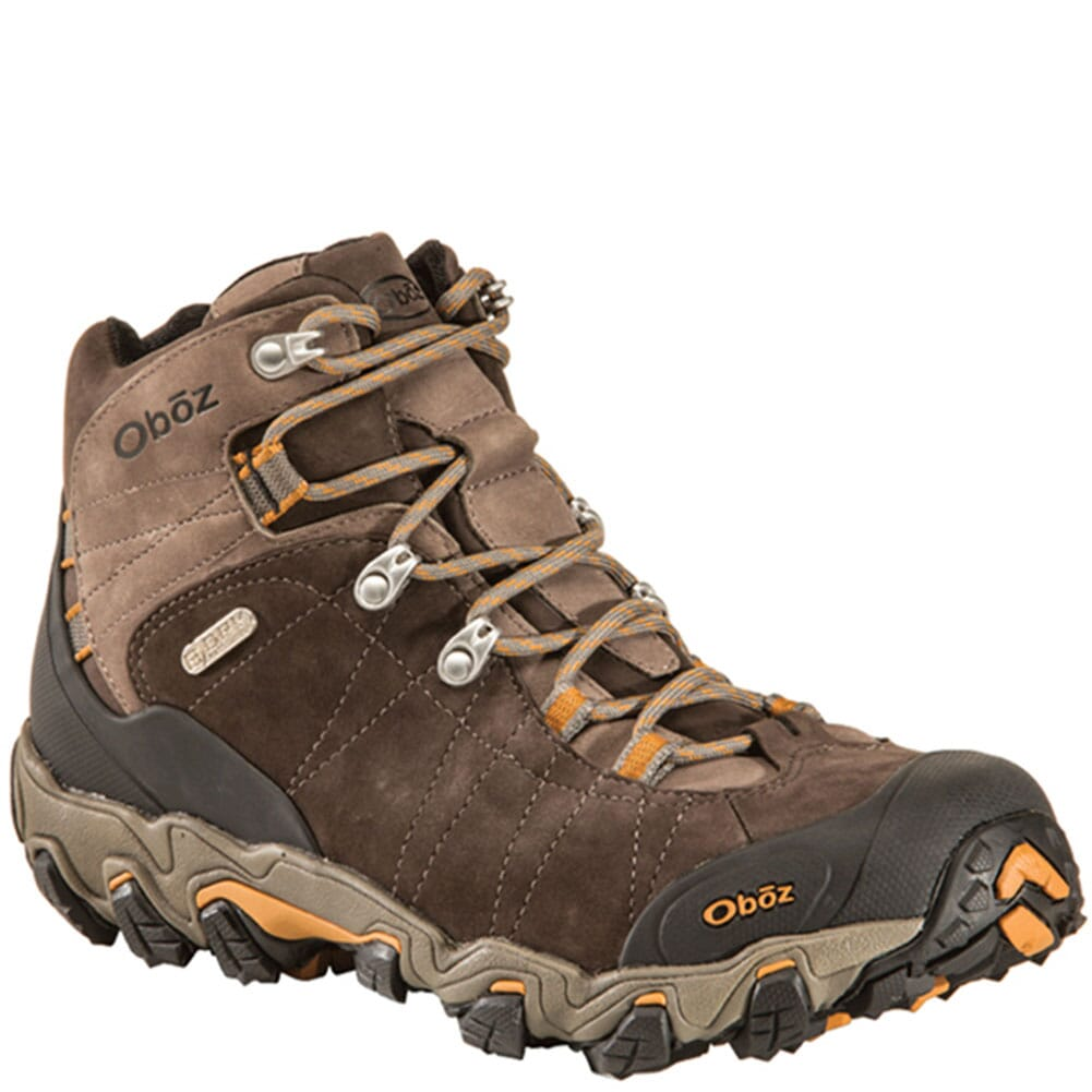 Image for Oboz Men's Bridger Mid Hiking Boots - Sudan from bootbay