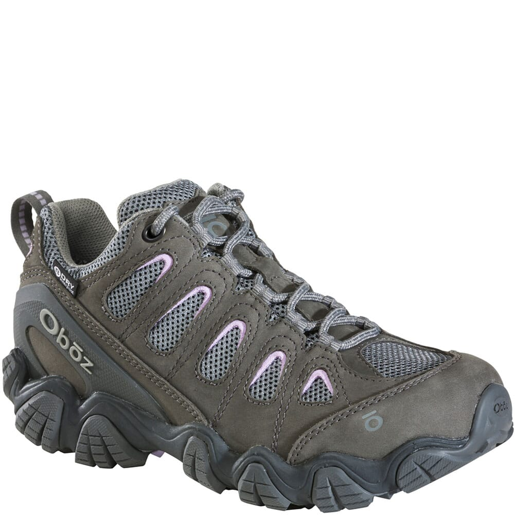 Image for OBOZ Women's Sawtooth II Low WP Hiking Shoes - Pastel Lilac from elliottsboots