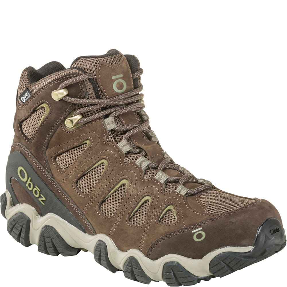 Image for OBOZ Men's Sawtooth II WP Hiking Boots - Canteen/Mayfly Green from bootbay