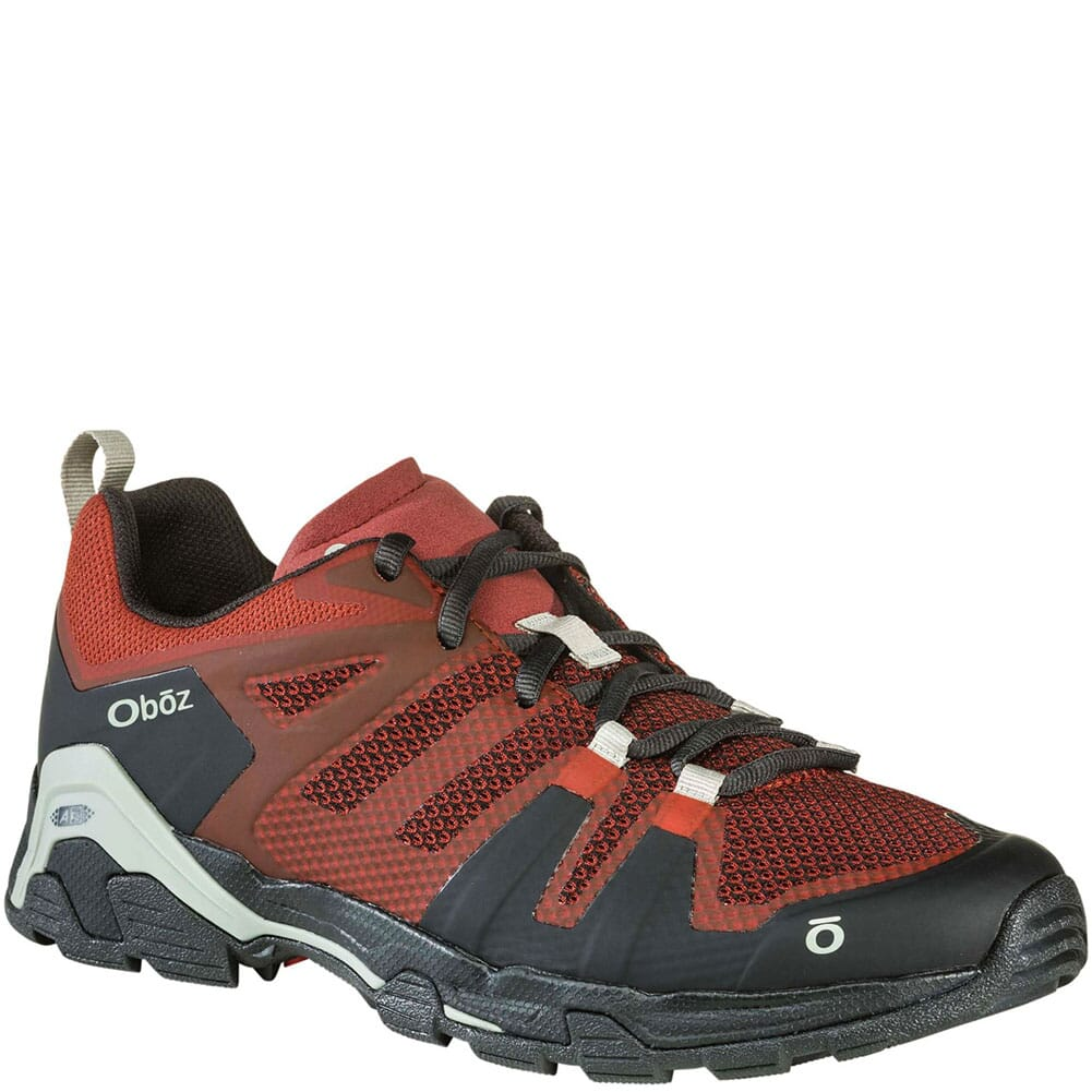 Image for OBOZ Men's Arete Low Hiking Shoes - Rust from bootbay