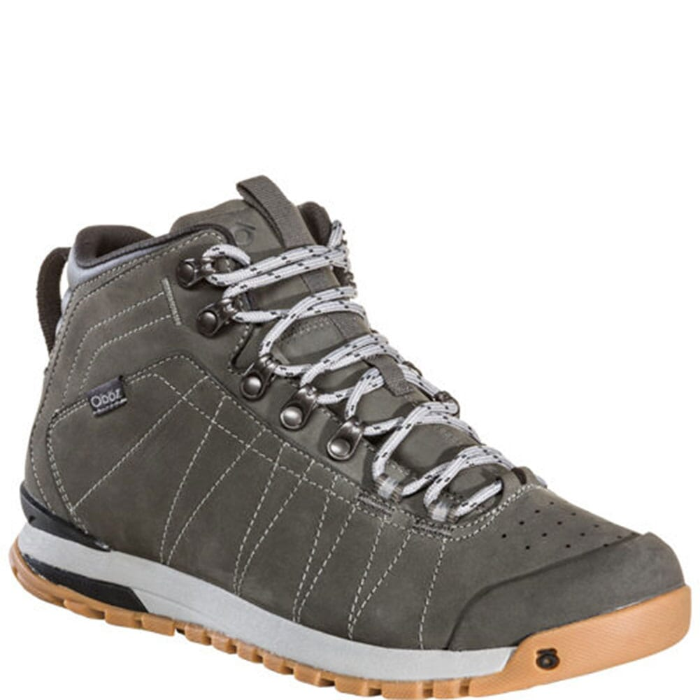 Image for Oboz Men's Bozeman Mid Leather Hiking Shoes - Charcoal from bootbay