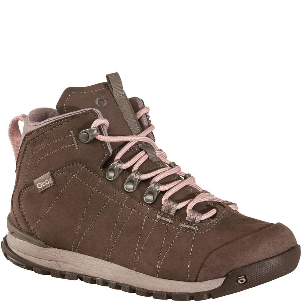 Image for Oboz Women's Bozeman Mid Leather WP Hiking Boots - Koala from elliottsboots