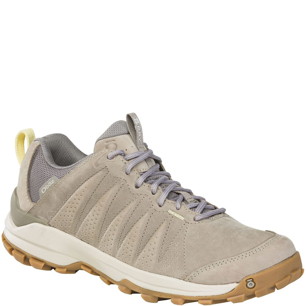 Image for Oboz Women's Sypes Low WP Hiking Shoes - Gravel from bootbay