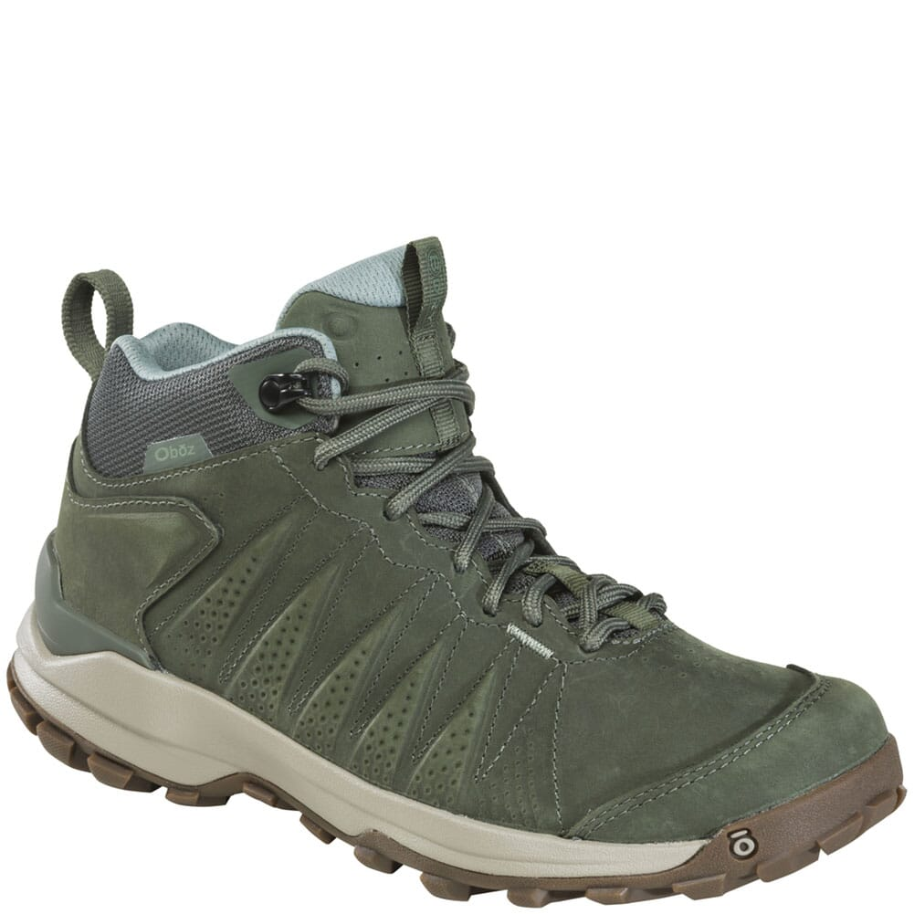 Image for Oboz Women's Sypes Mid WP Hiking Boots - Thyme from bootbay
