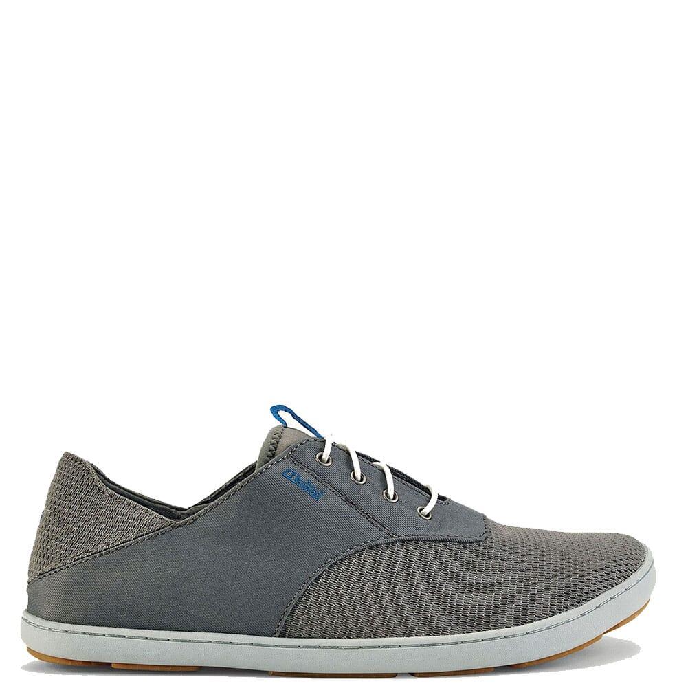 Image for Olukai Men's Nohea Moku Casual Shoes - Fog/Charcoal from bootbay