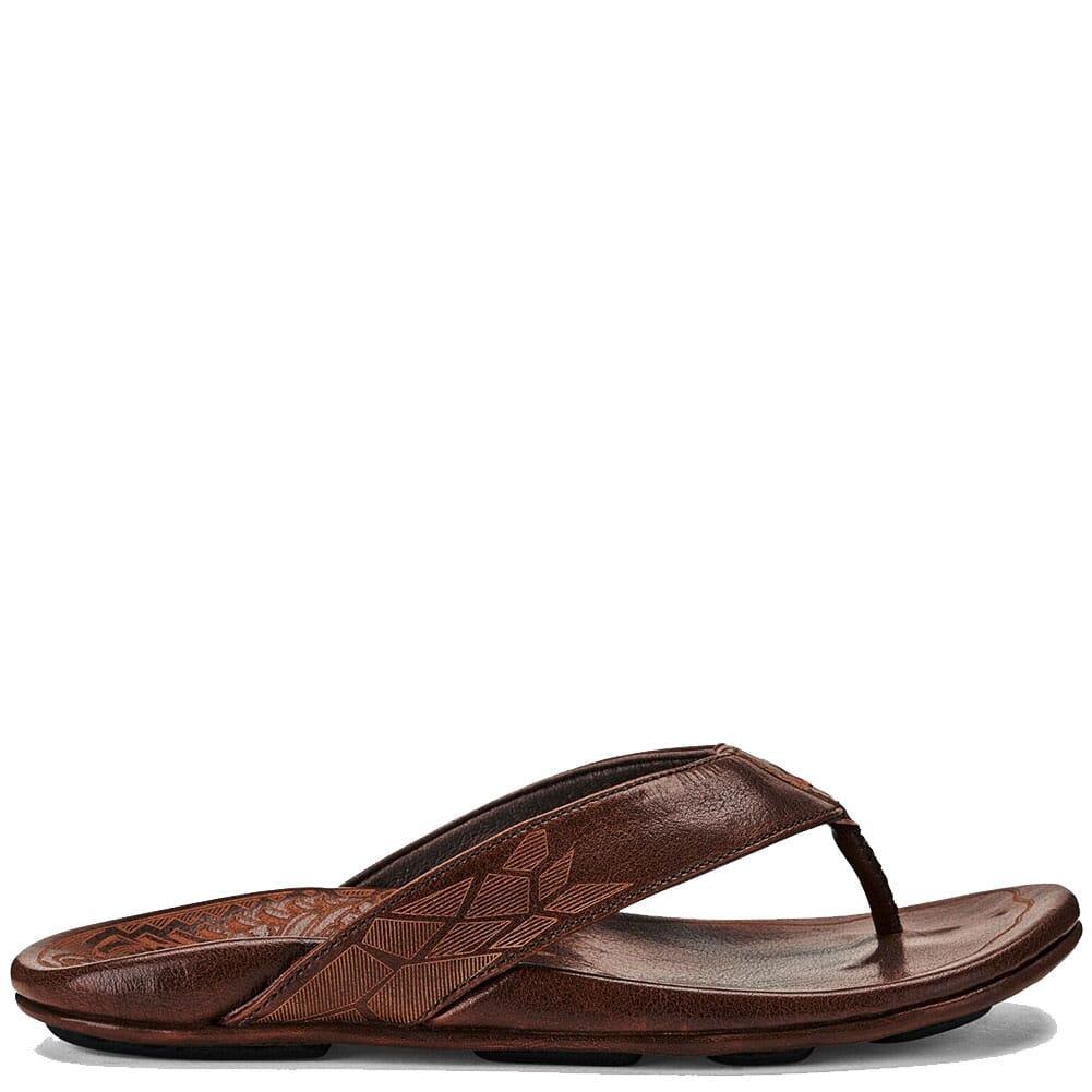 Image for Olukai Men's Kulia Sandals - Dark Wood from bootbay