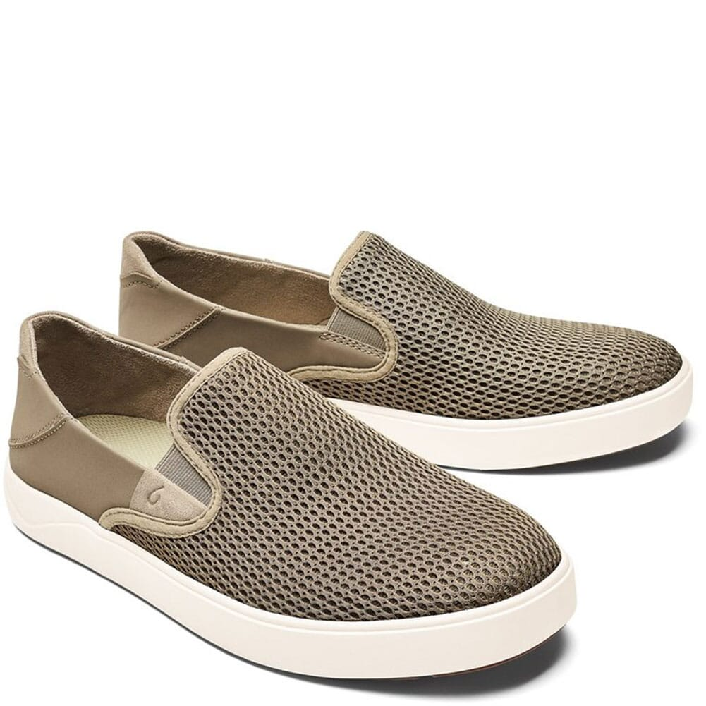 Image for Olukia Men's Laeahi Casual Slip On Sneakers - Clay/Clay from bootbay