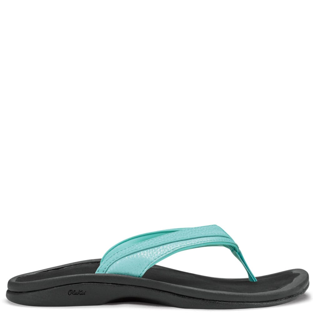 Image for OluKai  Women's Ohana Flip Flops - Sea Glass/Black from bootbay