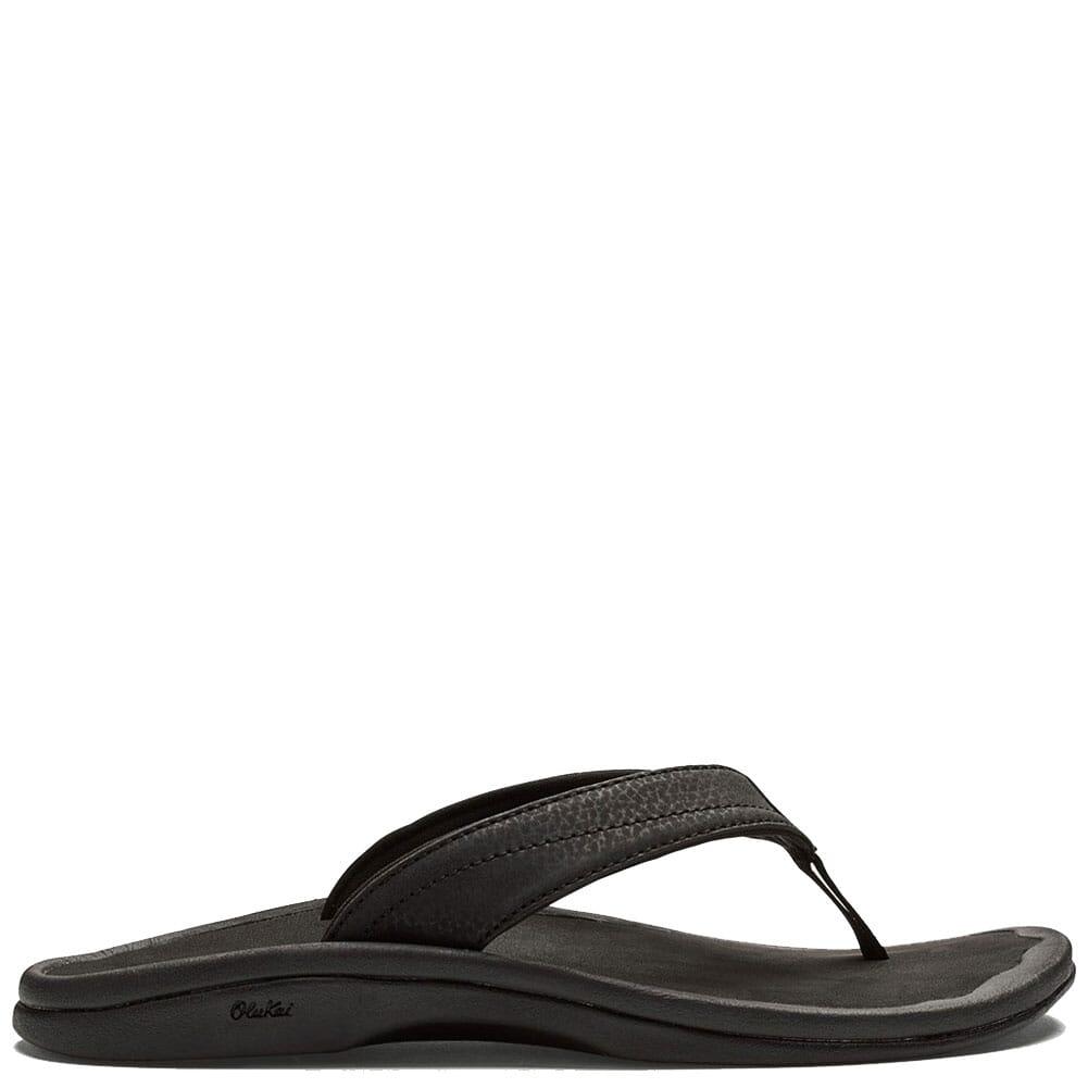 Image for OluKai  Women's Ohana Flip Flops - Black from elliottsboots