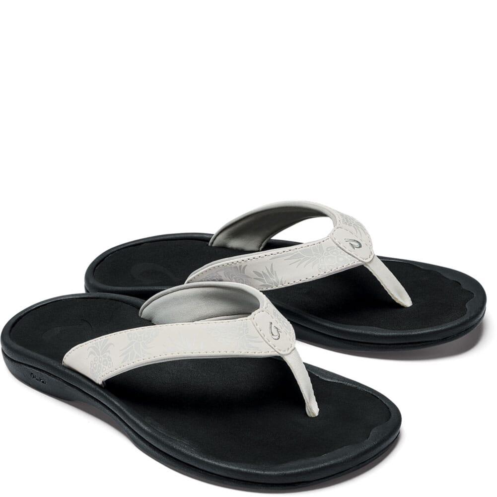 Image for OluKai Women's Ohana Flip Flops - Bright White/Hua from bootbay