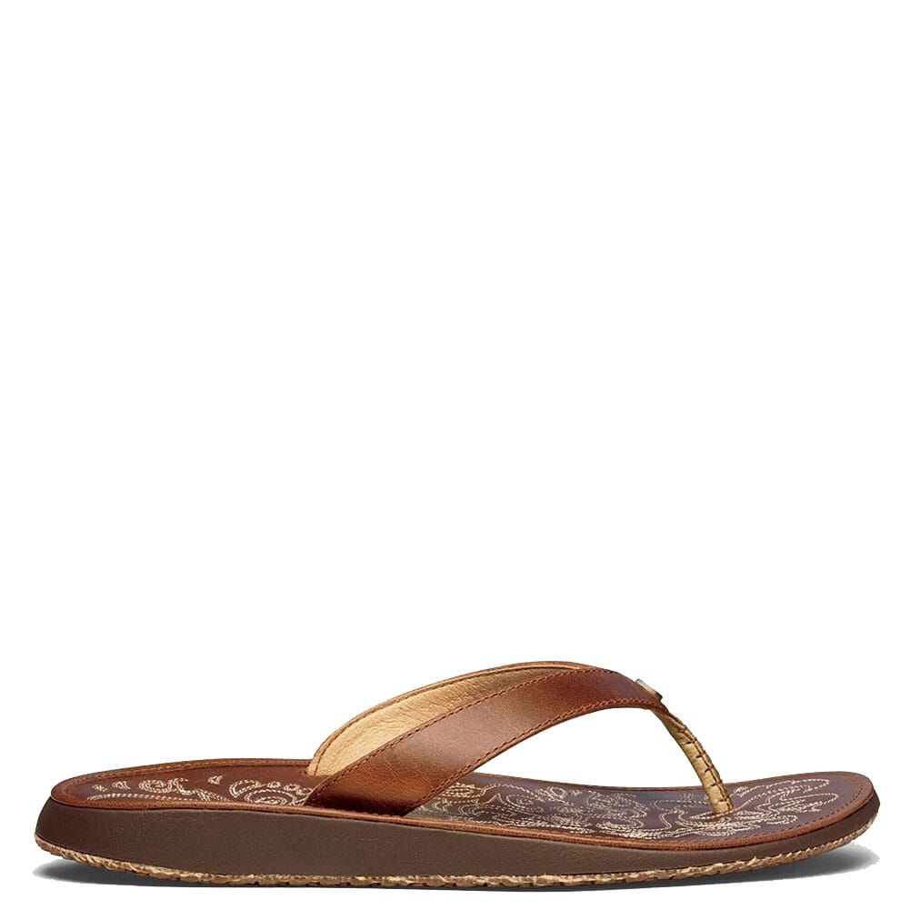 Image for OluKai Women's Paniolo Flip Flops - Natural from bootbay