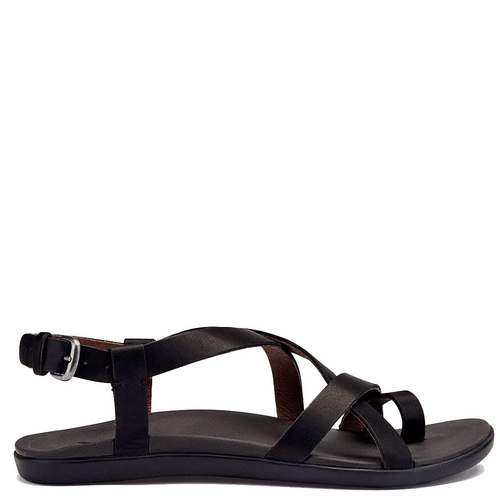 Image for OluKai Women's 'UPENA Sandals - Black from bootbay