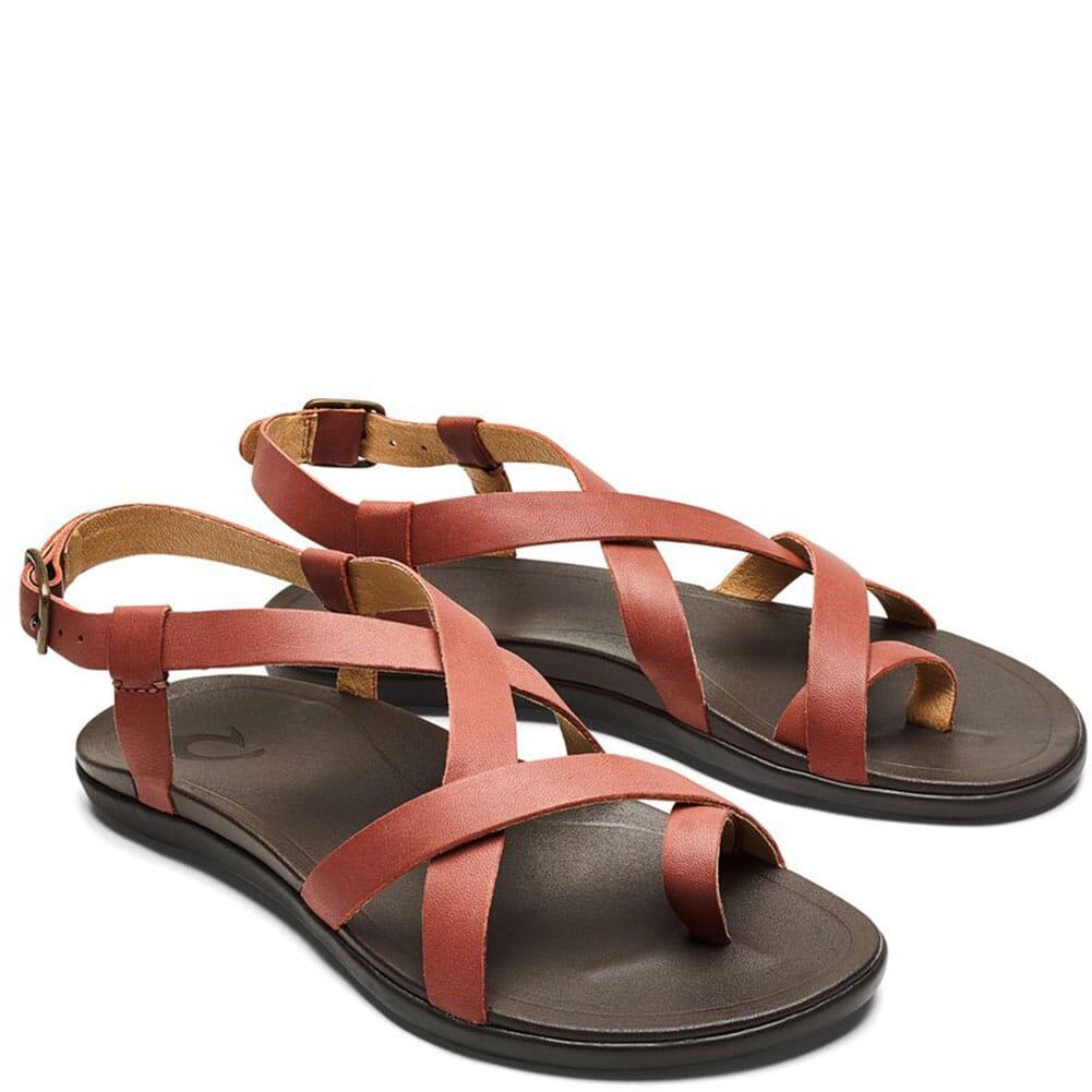 Image for OluKai Women's UPENA Sandals - Cedar Wood/Dark Java from bootbay