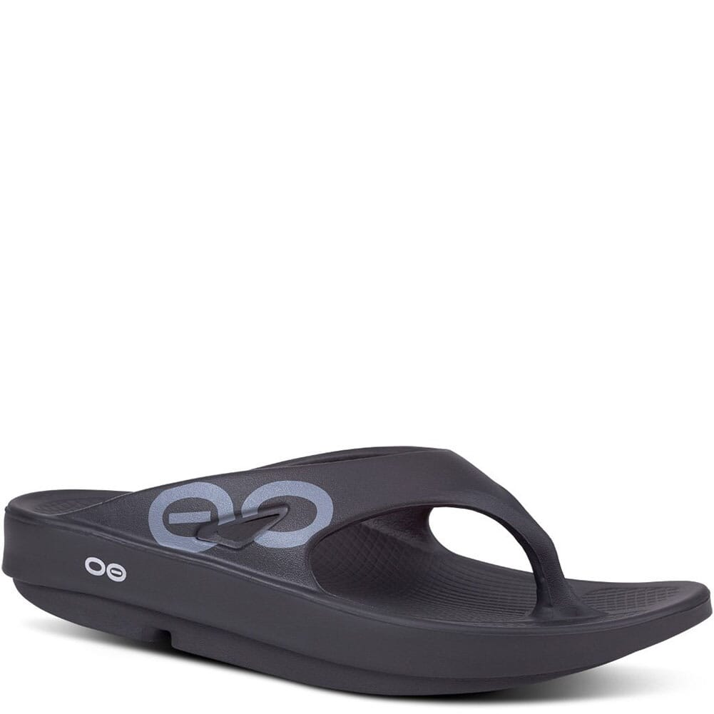 Image for OOFOS Unisex OOriginal Sport Sandals - Black from bootbay
