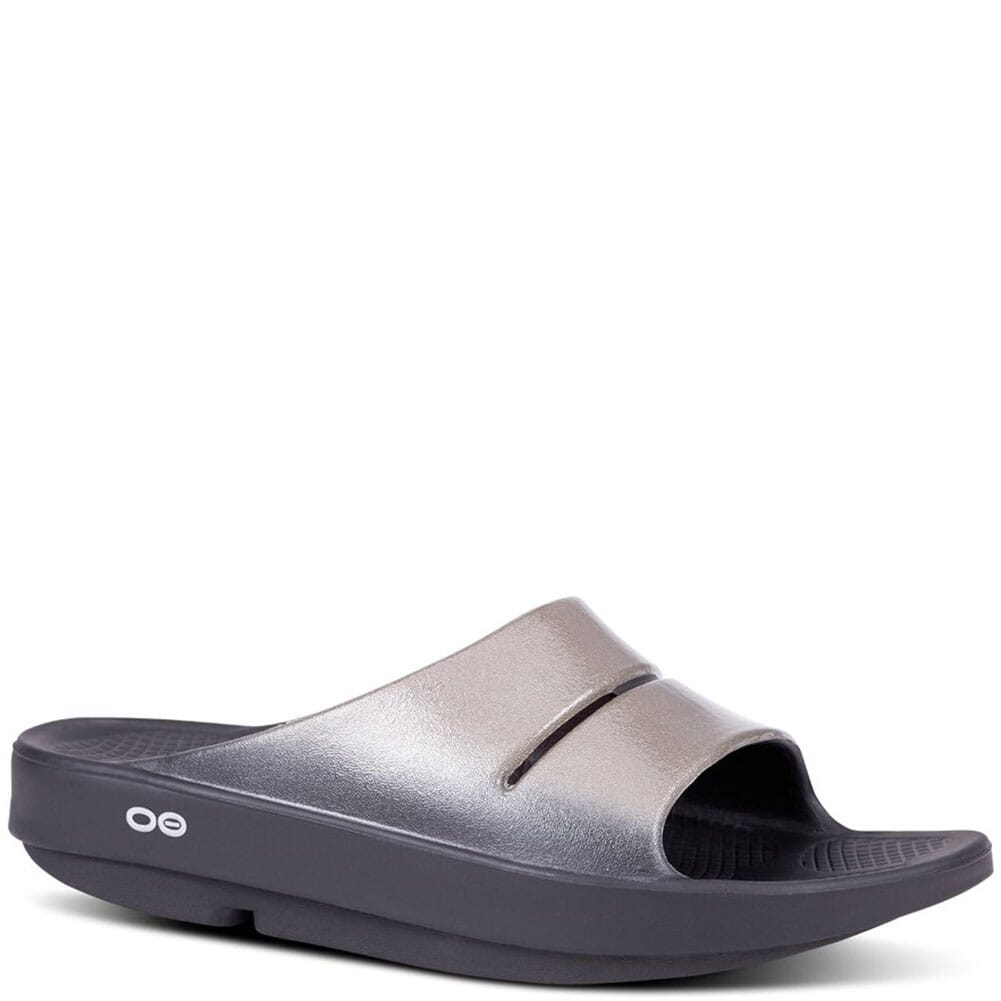 Image for OOFOS Women's OOAHH Luxe Slide - Latte from bootbay