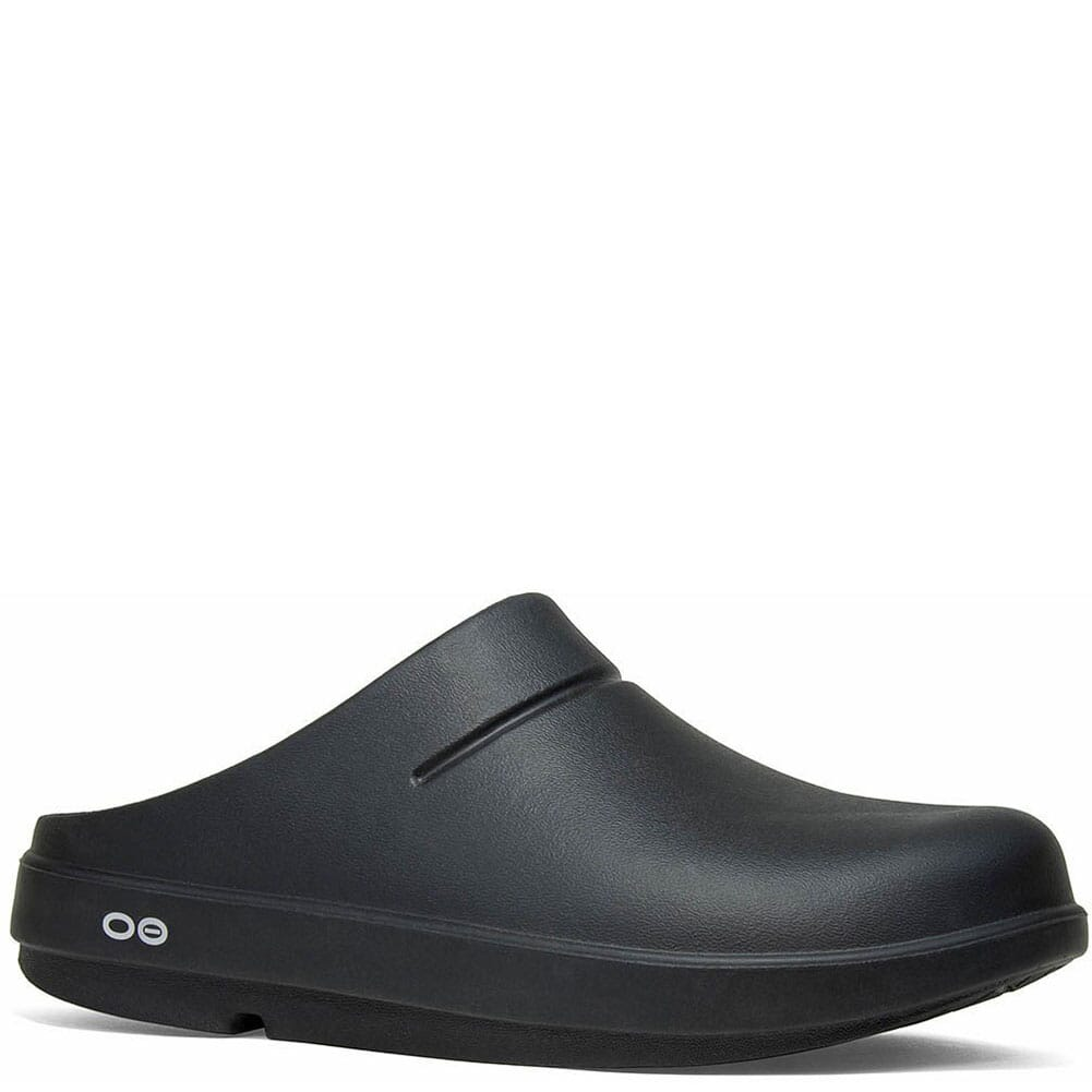 Image for OOFOS  OOcloog Clogs - Black from bootbay
