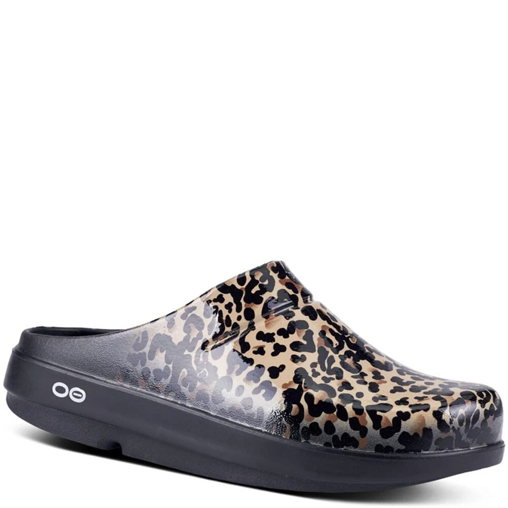 Image for Women's Oocloog Limited Casual Clogs - Leopard from bootbay