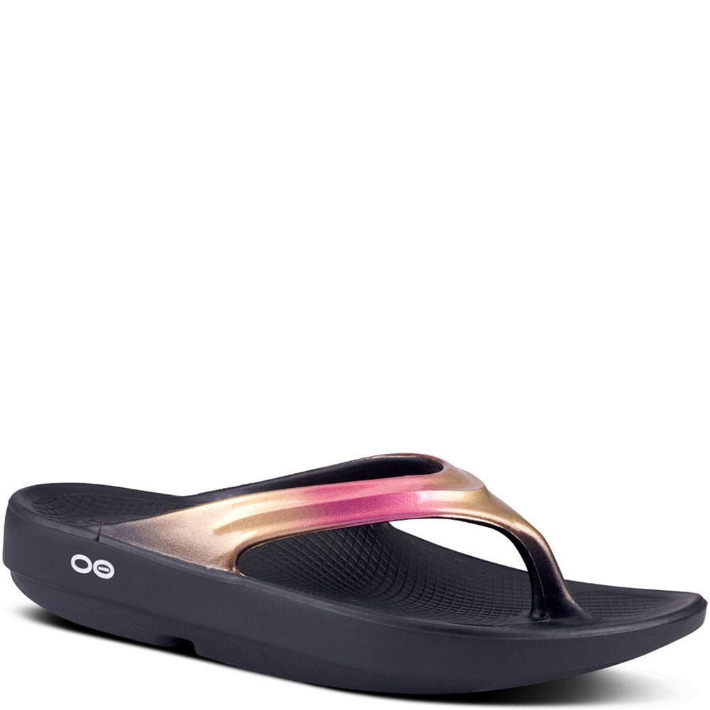 Image for OOFOS Women's OOLala Luxe Casual Sandals - Rose Gold from bootbay