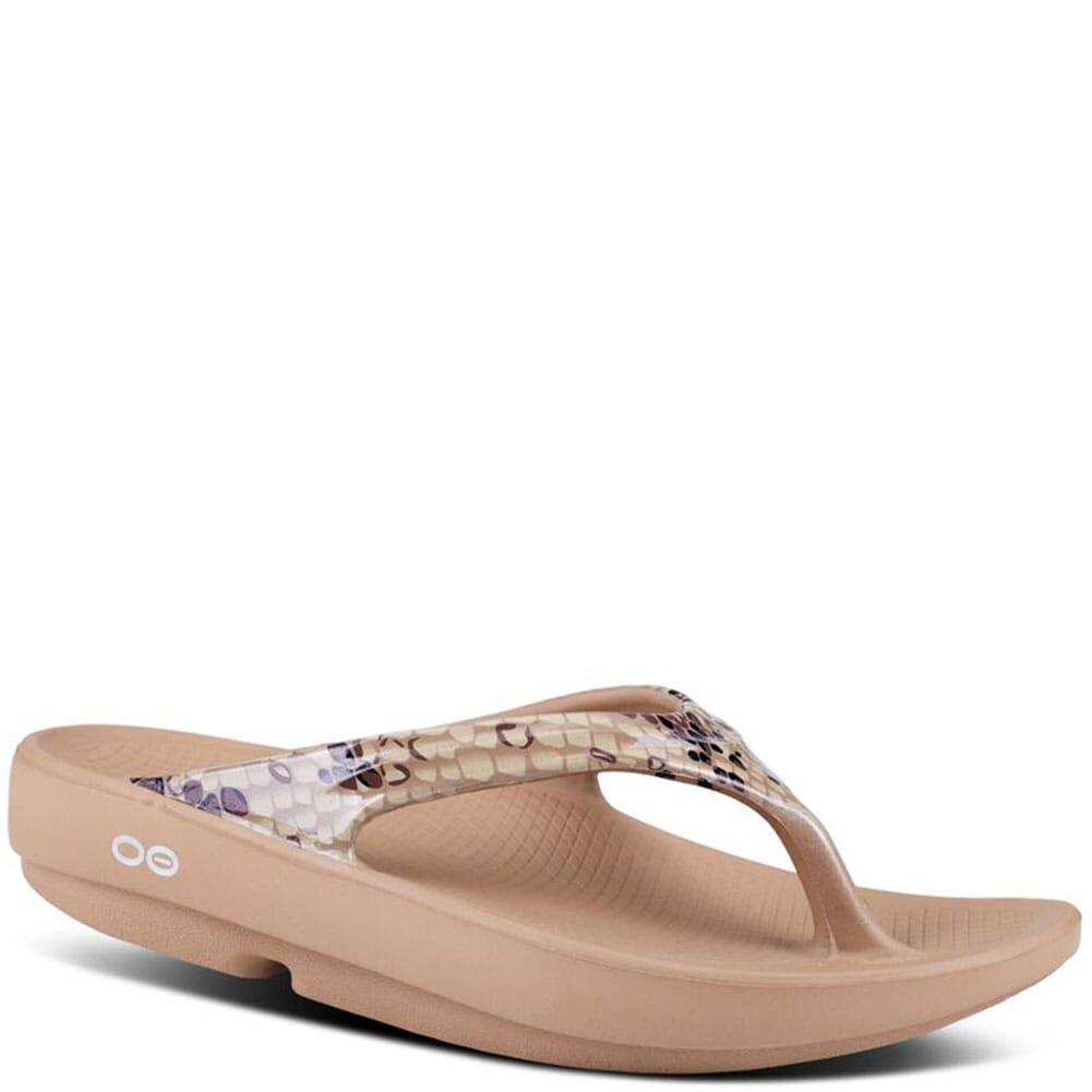 Image for OOFOS Women's OOlala Limited Sandals - Desert Snake from elliottsboots