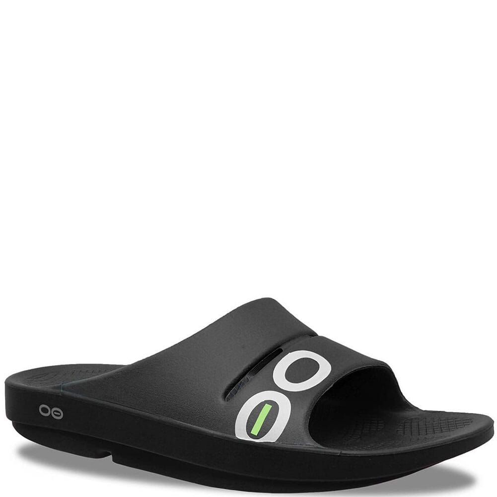Image for Unisex OOahh Sport Slide Sandals - Black from bootbay