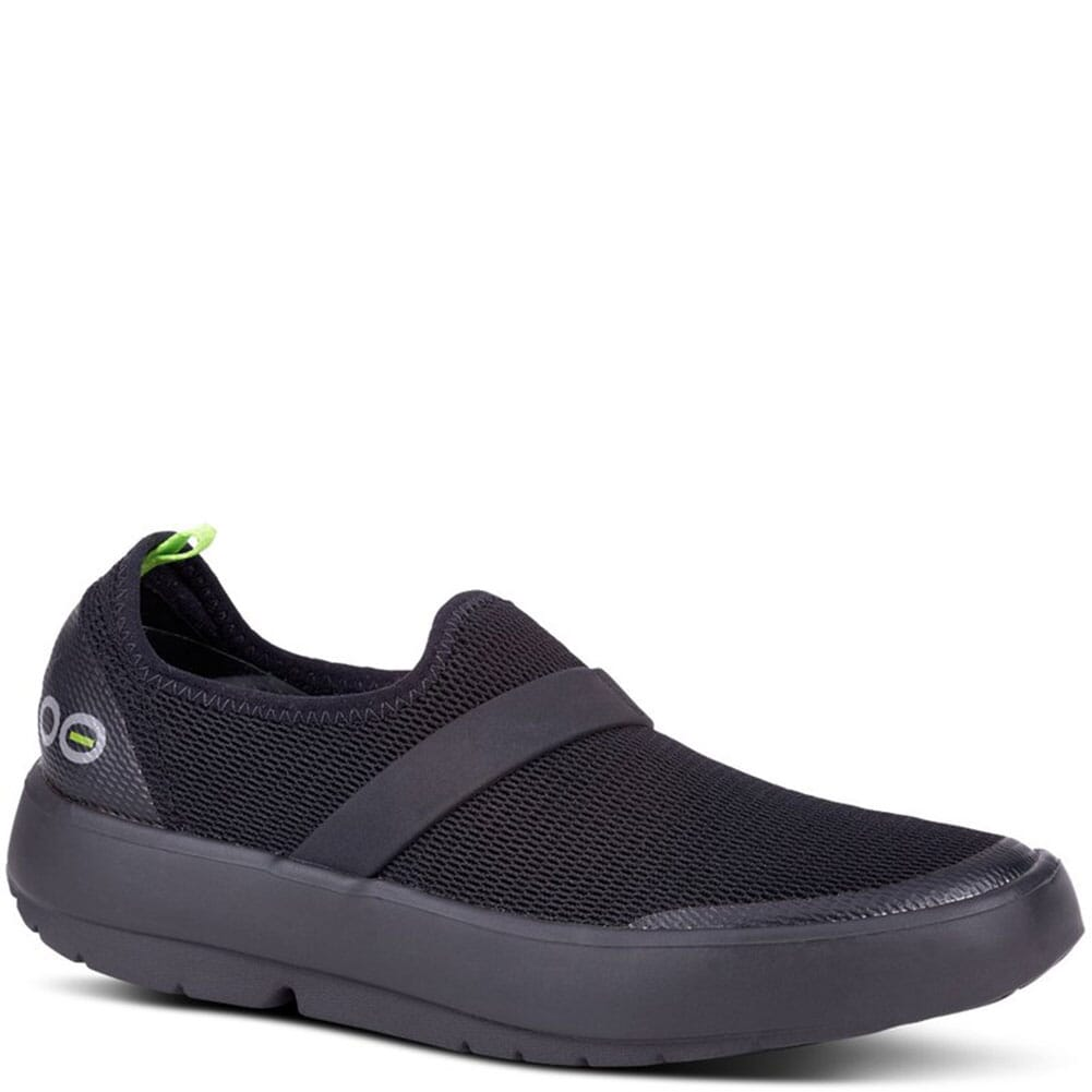 Image for OOFOS Women's OOMG Casual Shoes - Black from bootbay