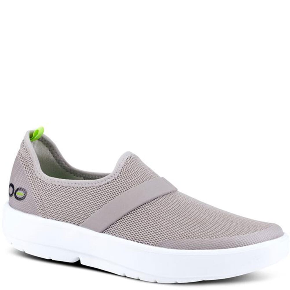 Image for OOFOS Women's OOMG Casual Shoes - White/Gray from bootbay