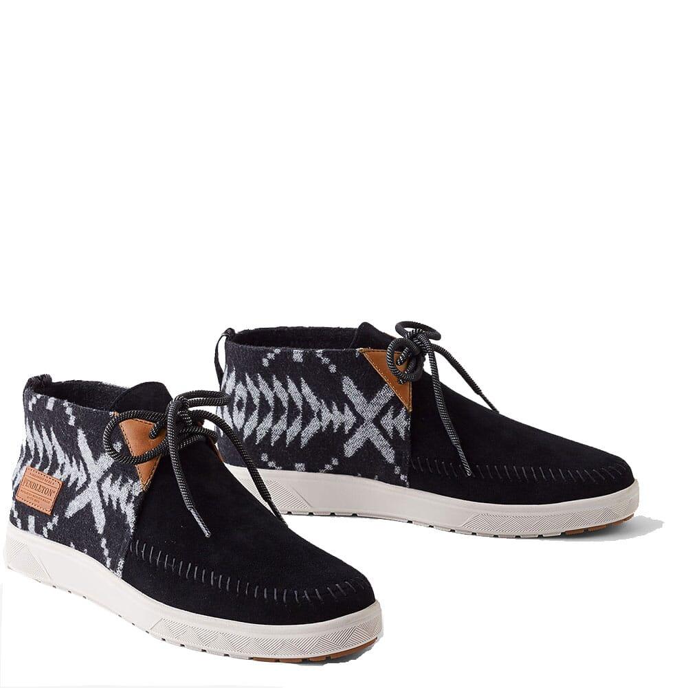 Image for Pendleton Men's LA Brea Mid Sneakers - Black from bootbay