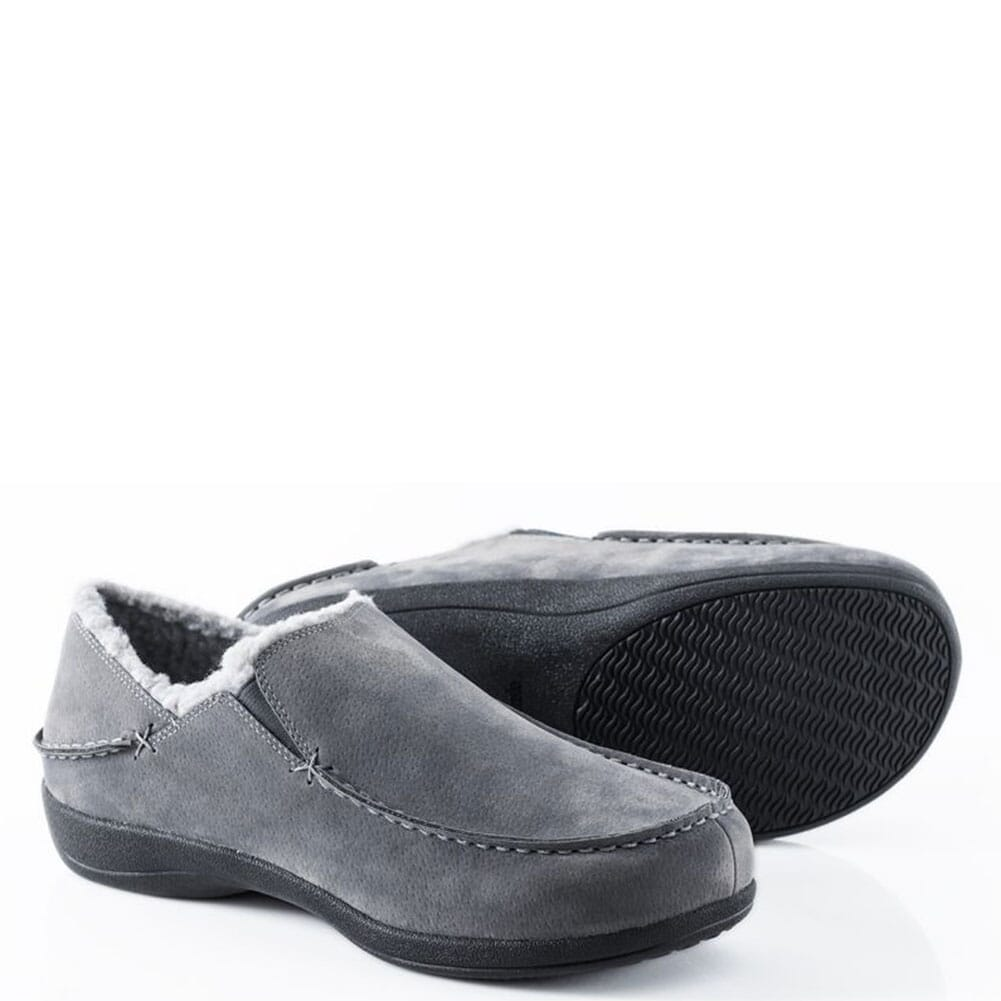 Image for Powerstep Men's Fusion Slippers - Charcoal from bootbay