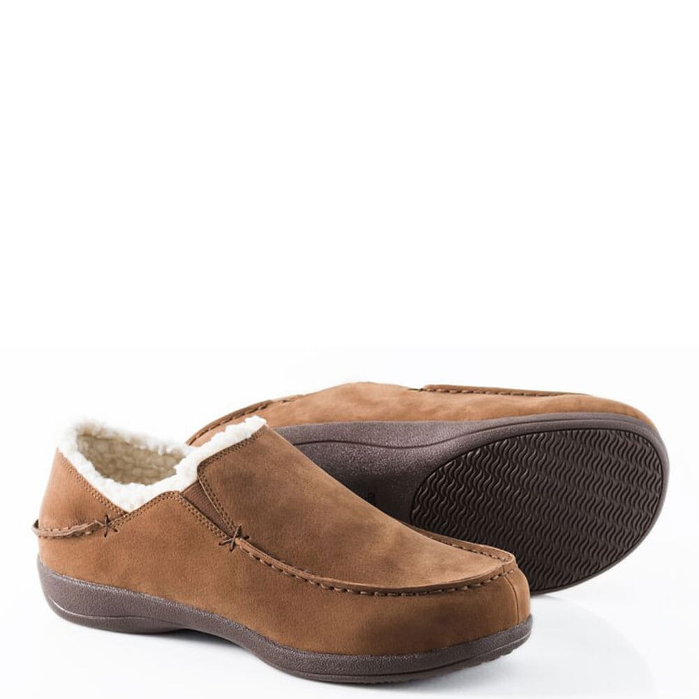 Image for Powerstep Men's Fusion Slippers - Brown from bootbay