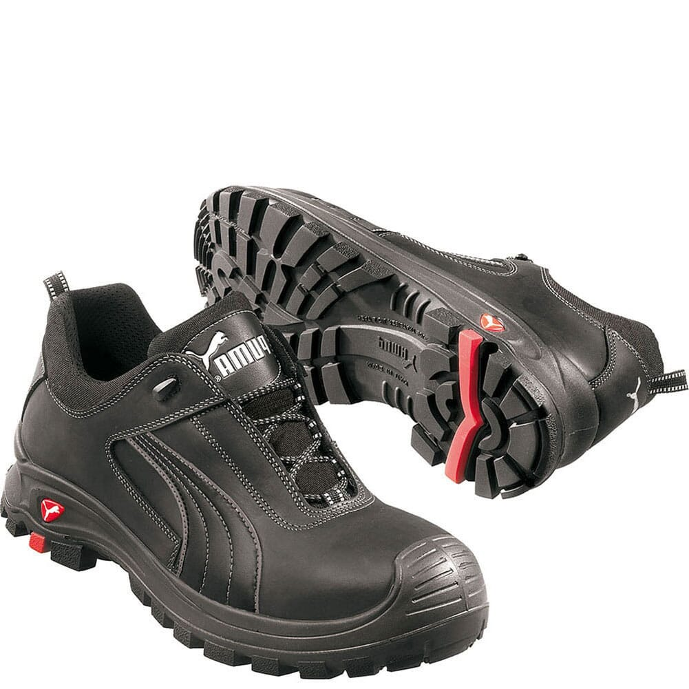 Image for Puma Men's Cascades Low Safety Shoes - Black from bootbay