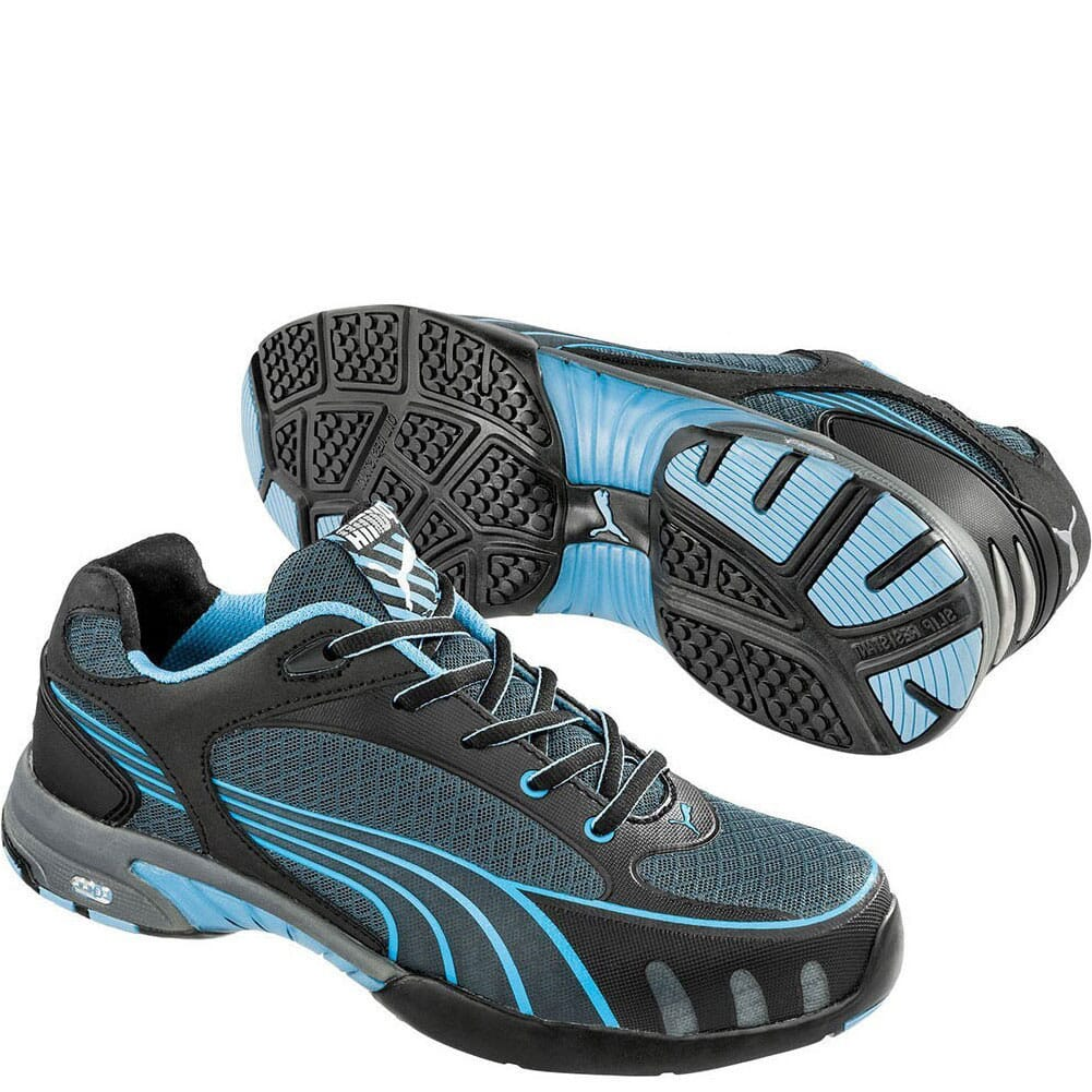 Image for Puma Women's Fuse Motion Low Safety Shoes - Blue from elliottsboots