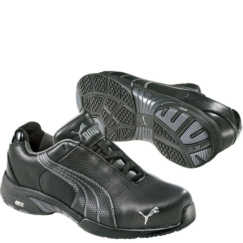 Image for Puma Women's Velocity Low Safety Shoes - Black from bootbay