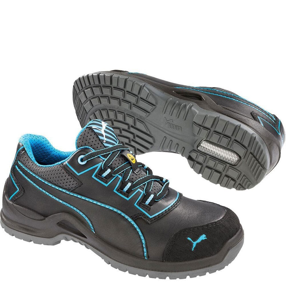 Image for Puma Women's Niobe Low Safety Shoes - Black from elliottsboots
