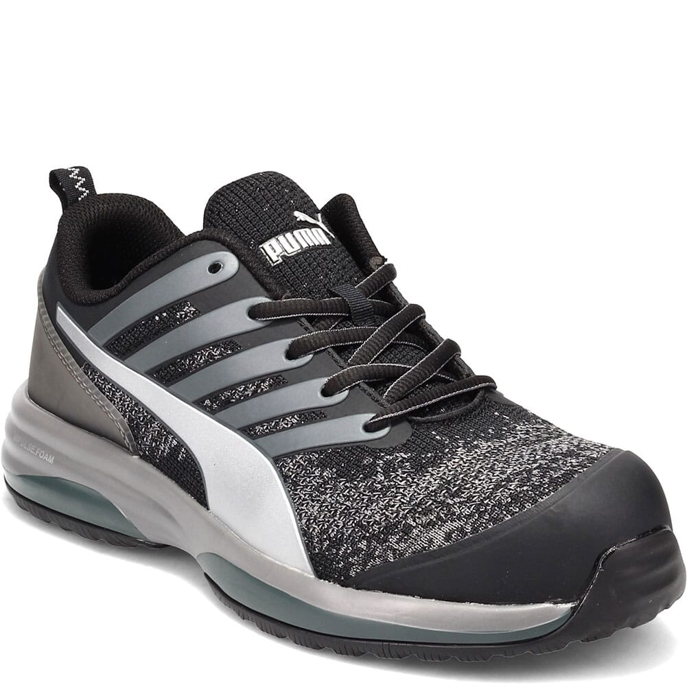 Image for Puma Men's Charge Low Work Shoes - Black/Grey from bootbay