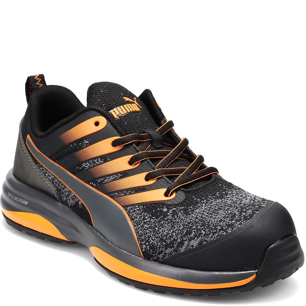 Image for Puma Men's Charge Low Work Shoes - Orange/Black from bootbay