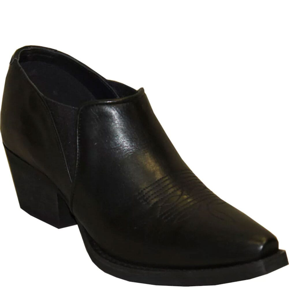 Image for Rawhide Women's Ankle Western Shoes - Black from elliottsboots