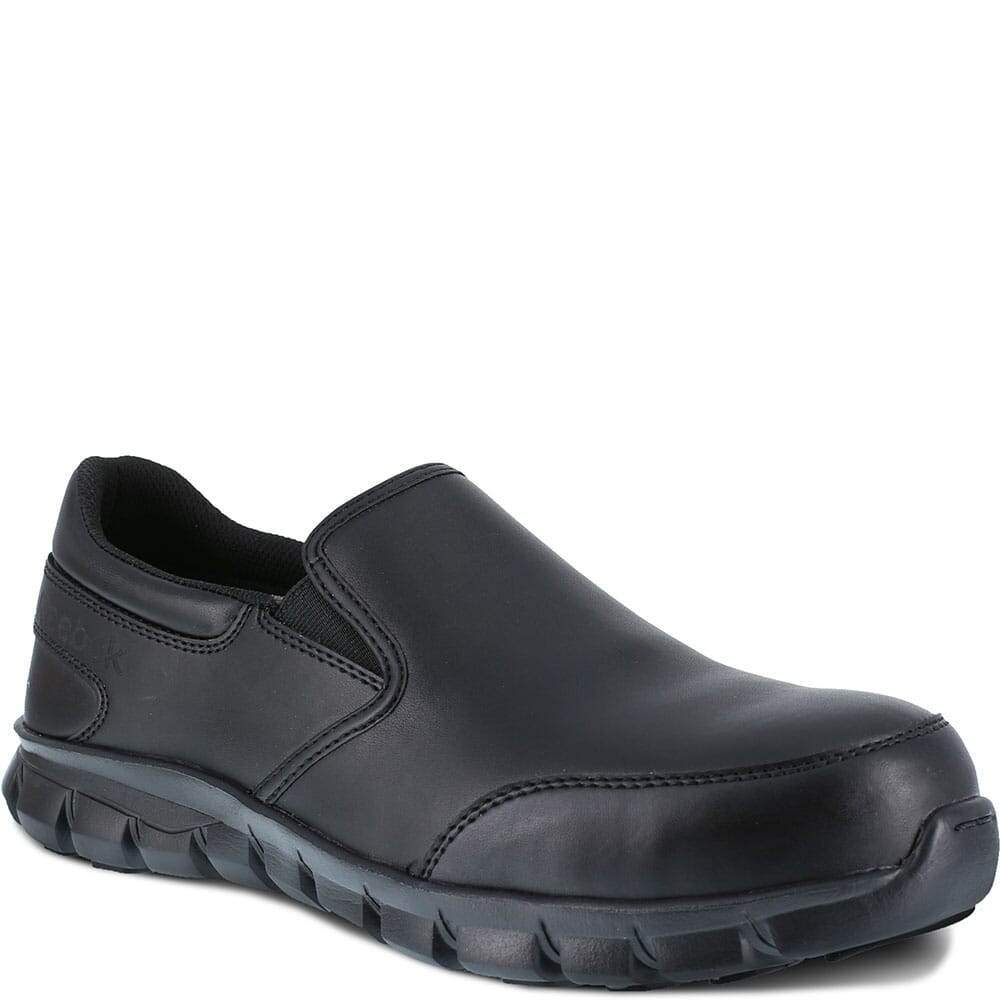 Image for Reebok Women's Sublite Cushion Safety Shoes - Black from elliottsboots
