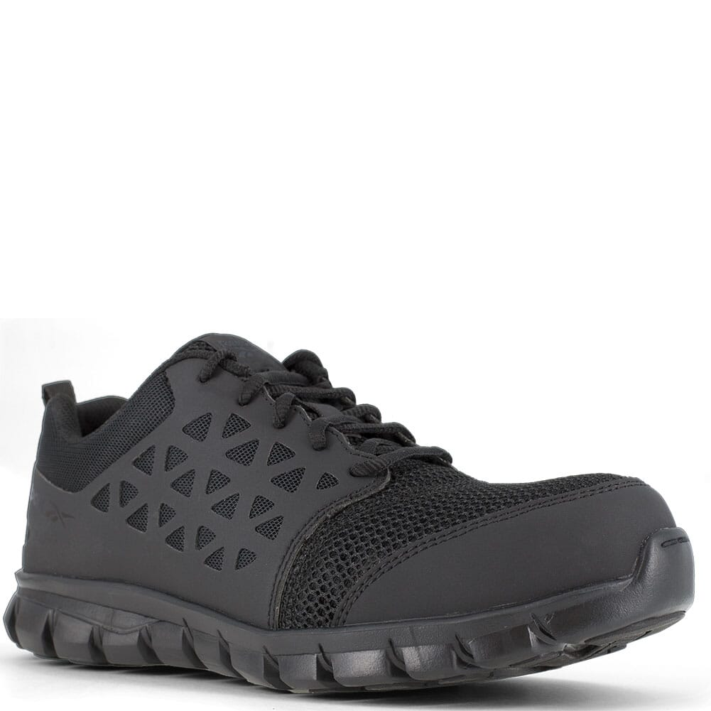 Image for Reebok Women's Sublite ESD Safety Shoes - Black from elliottsboots