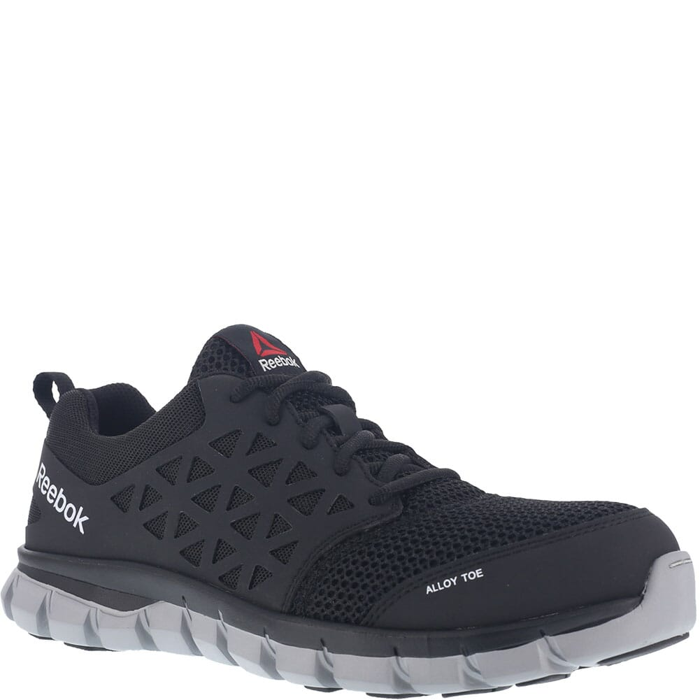 Image for Reebok Women's Sublite Safety Shoes - Black from elliottsboots