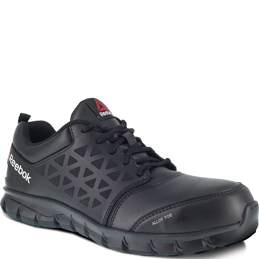 Image for Reebok Women's Sublite EH Safety Shoes - Black from bootbay