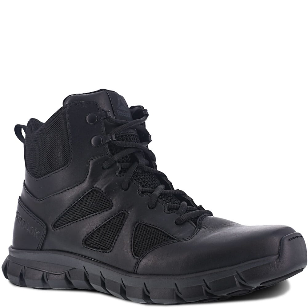 Image for Reebok Women's Sublite Cushion Zip Tactical Boots - Black from bootbay