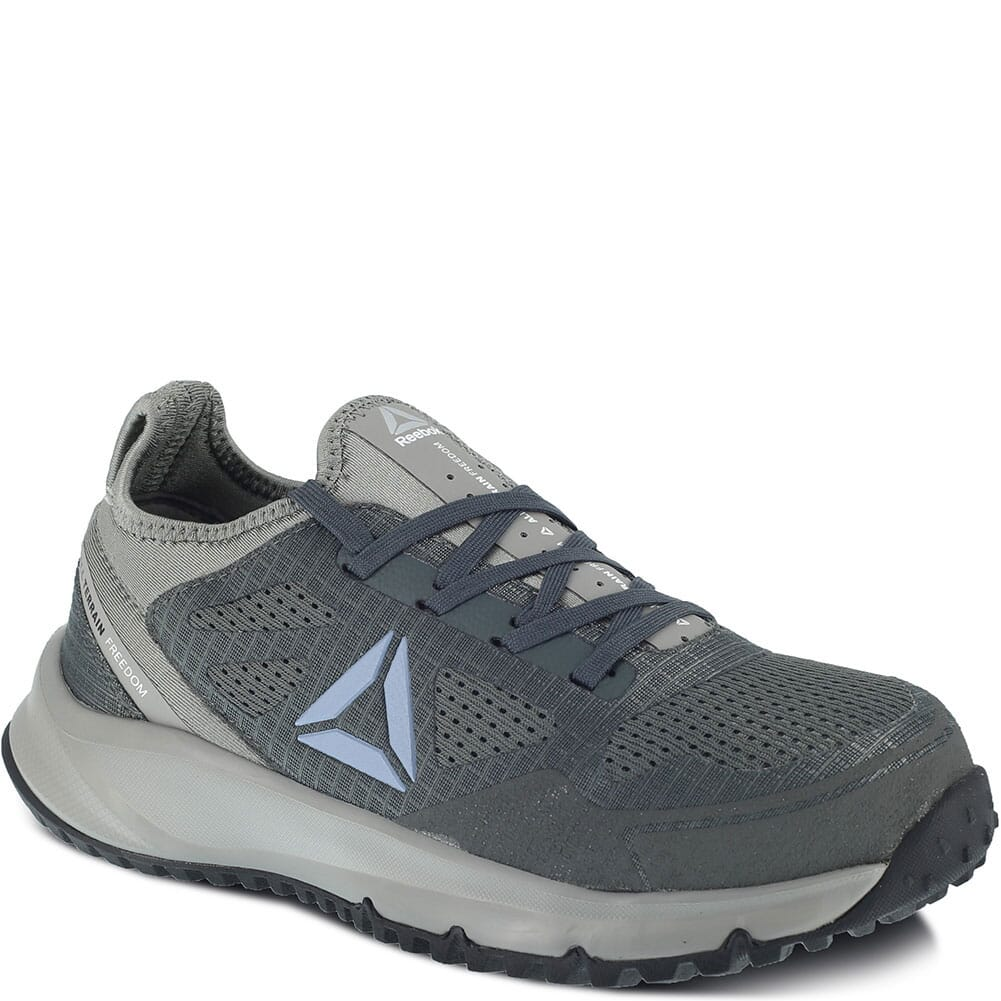 Image for Reebok Women's All Terrain Safety Shoes - Flint Grey/Black from bootbay