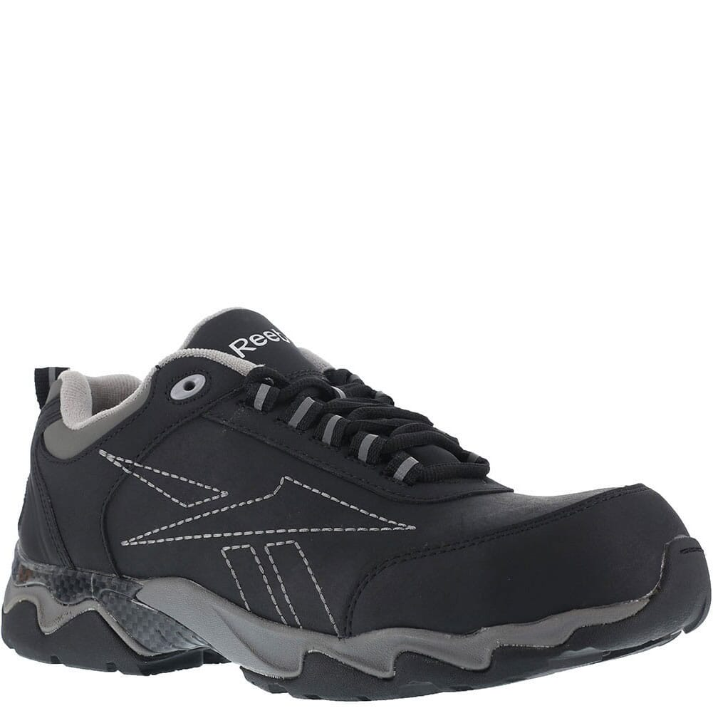 Image for Reebok Men's Waterproof Safety Shoes - Black/Grey from bootbay