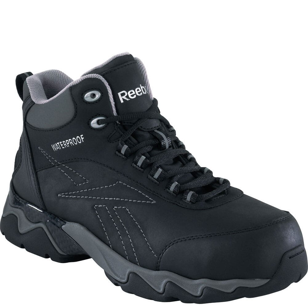 Image for Reebok Men's Beamer Safety Boots - Black from bootbay